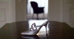 No. 200 Manolo jewelled shoe