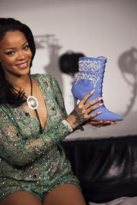 No. 75 Rihanna with boot