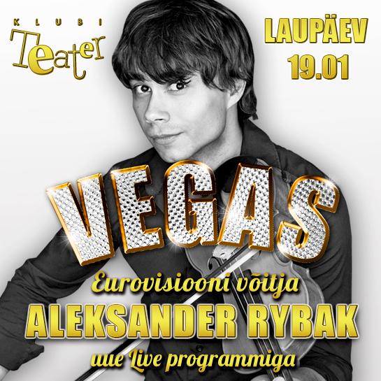 Juba homme klubis Teater maailmas südameid vallutanud Alexander Rybak