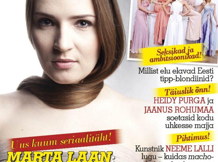 Eesti loetavaim ajaleht on Postimees ja ajakiri Kroonika
