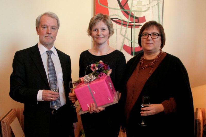 Aasta soome keele õpetajaks valiti Margit Alliksaar