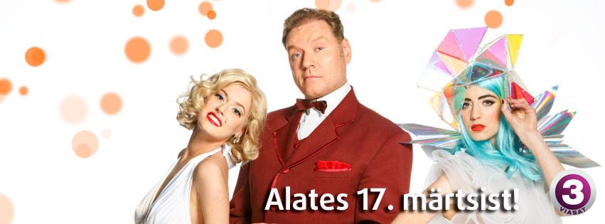 """Juba järgmisel pühapäeval alustab TV3es uus glamuurne paroodia- ja laulushow """"Su nägu kõlab tuttavalt"""""""