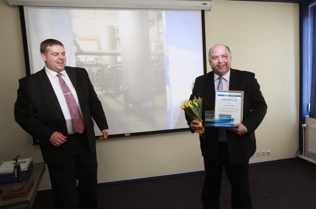 Eesti Vee-ettevõtete Liit pärjas parimaid