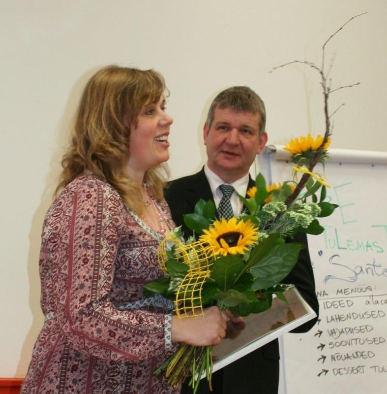 Viljandimaa aasta 2013 tervisedendaja tiitli pälvis Kersti Puusild