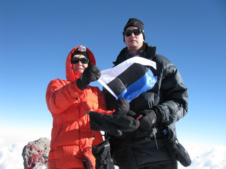 Esimene eesti naine alistas 8000-meetrise mäe tipu