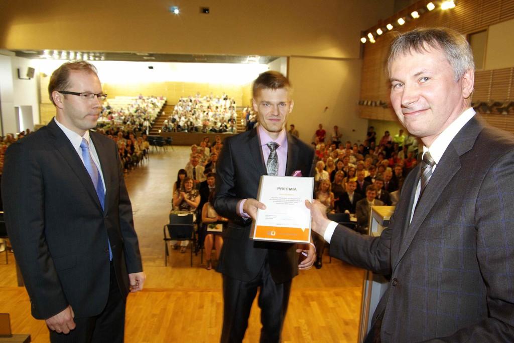 Betooniühingu üliõpilaspreemiad said Martin Minin ja Margus Riimann Tallinna Tehnikaülikoolist
