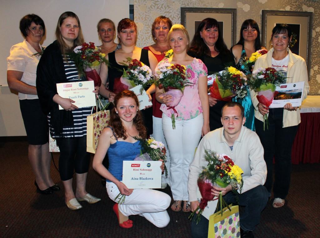 Rimi teenindajate võitluse Nobenäpp 2013 võitis Tartu Rebase Rimi teenindaja Kerttu Aaving