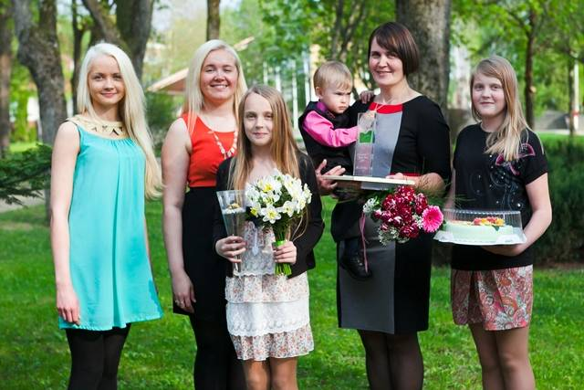 Võrumaa aasta ema on Airi Grossberg