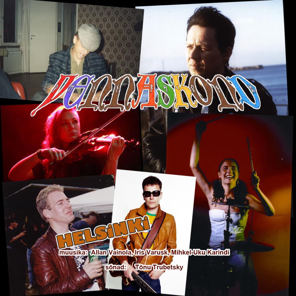 """Vennaskond annab välja uue CD-singli """"Helsinki"""""""