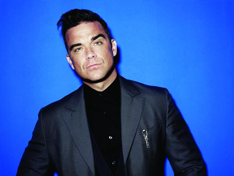 Robbie Williamsi Tallinna esinemisest valmib turnee ainus ametlik film