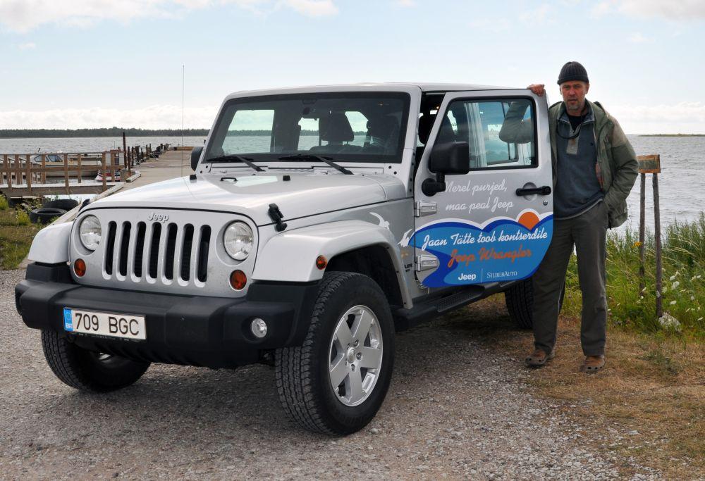 Laulja ja maailmarändur Jaan Tätte testib, kas Jeep on parem kui purjekas