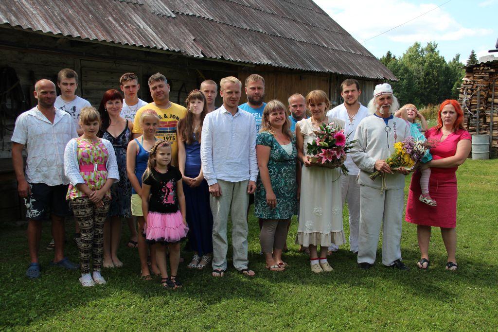 Võrumaal tunnustati Helgi Saare ja Agu Hollo perekonda