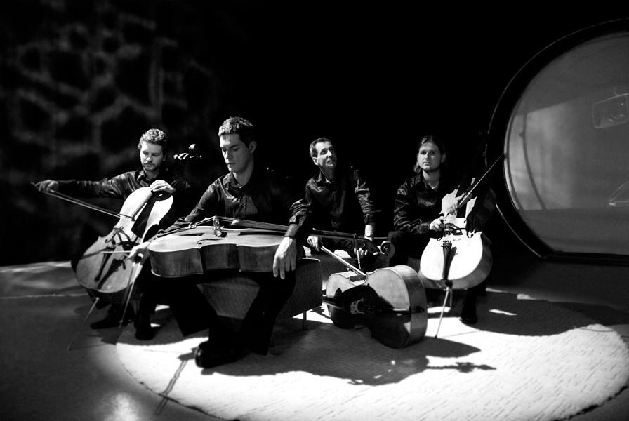 Tšellokvarteti C-JAM annab suvekontserdi Löwenruh pargis