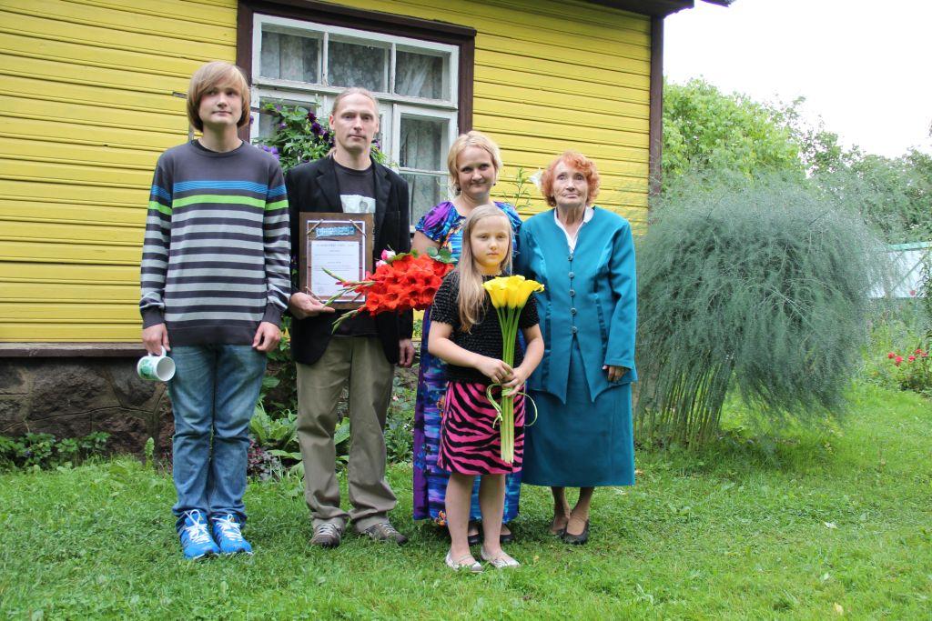 Harjumaal tunnustati Margit ja Mait Eeriku perekonda