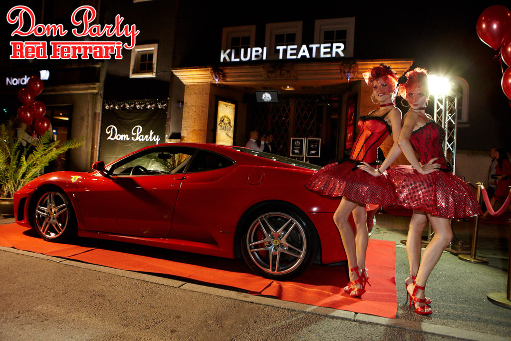 GALERII: Dom Party RED ja kaunis Ferrari! – tavaline reede Klubis Teater