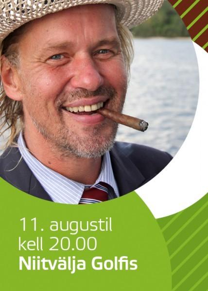 11. augustil annab Jaan Tätte vabaõhu kontserdi Niitvälja Golfi roheluses!