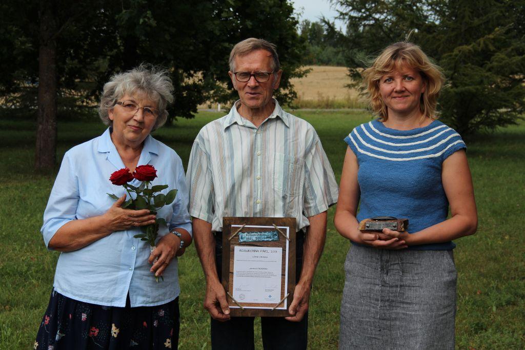 Lääne-Virumaal tunnustati Eha ja Paul Rehemaa perekonda