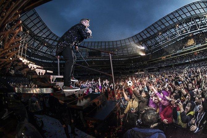Robbie Williamsi kontserdi korraldajad teevad päeval peaproovi