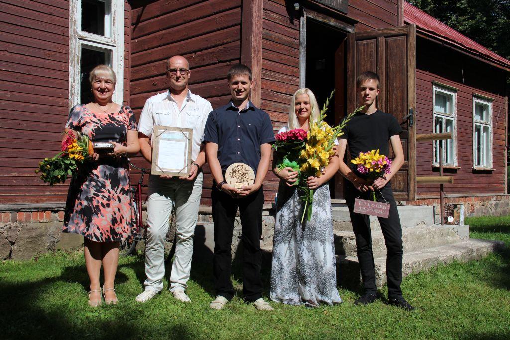 Pärnumaal tunnustati Margit ja Anti Merila perekonda