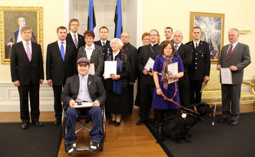 Kodanikupäeva aumärgi pälvisid 14 silmapaistvat inimest
