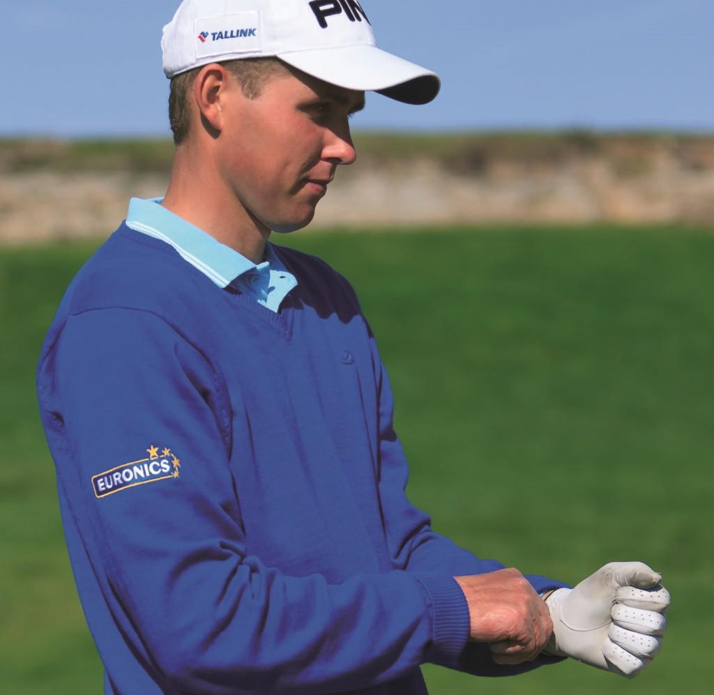 Eesti parimad golfimängijad on Mark Suursalu ja Mari Hütsi