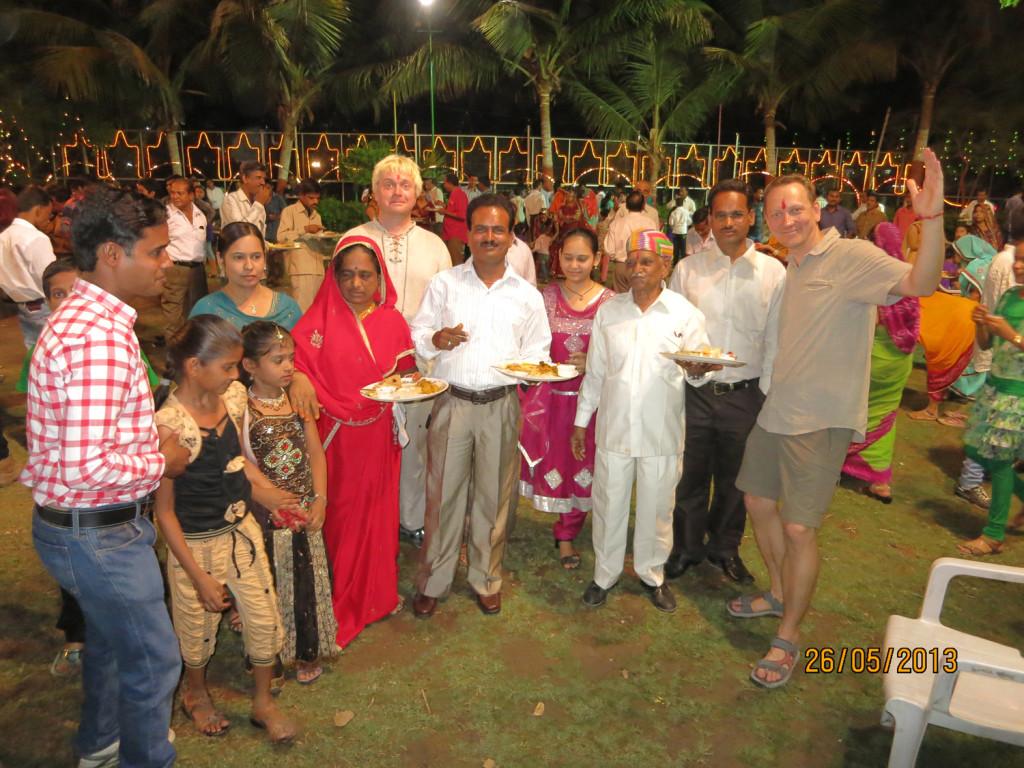 Teet ja Kristjan Udaiupuris India pulmas