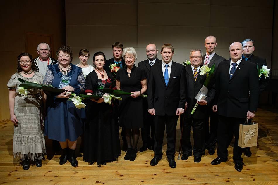 20.veebruaril 2014 toimus Võru Kandles Eesti Vabariigi 96. aaspäevale pühendatud pidulik aktus