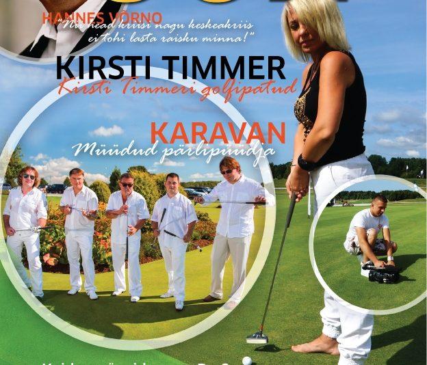 Ajakiri Golf ilmub sel aastal neli korda!