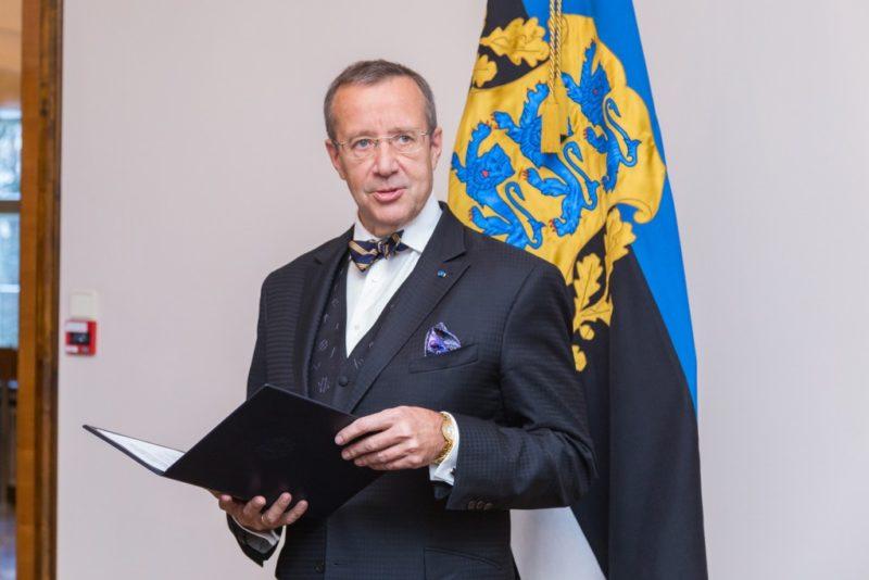 Vabariigi President annab iseseisvuspäeva eel riigi teenetemärgid 99 inimesele