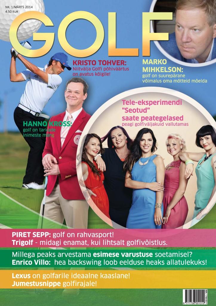 AJAKIRI GOLF PEAGI MÜÜGIL! Millest uues ajakirjas Golf juttu tuleb?