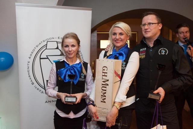Eesti parimad baarmenid on Krista Meri ja Tarmo Piir