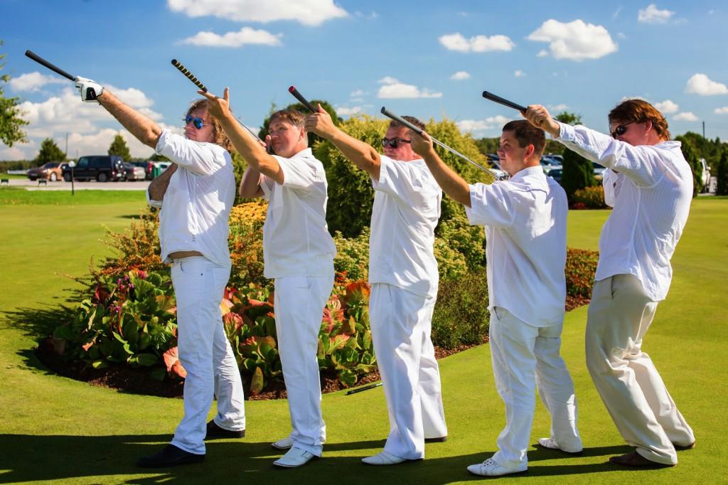 Ajakiri Golf: Ansambel Karavan – sündinud golfimängijad!