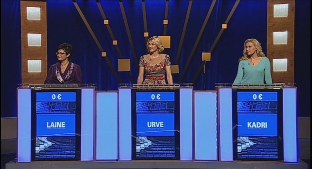 """Täna võistlevad """"Kuldvillakus"""" Kadri Simson, Urve Palo ja Laine Randjärv!"""