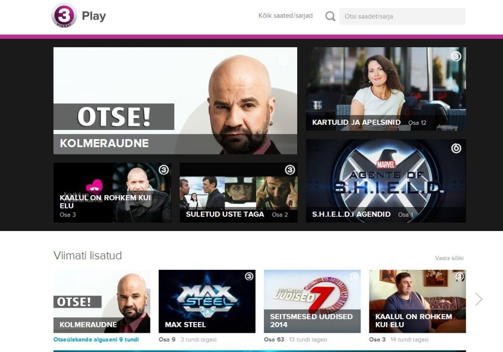TV3Plays Kolmeraudne