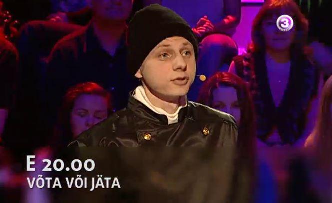 """""""Võta või jäta"""" mängus on korstnapühkija Volli ja tsiklimees Vello"""