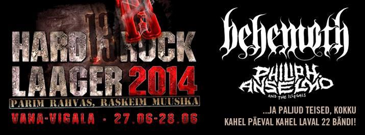 Hard Rock Laagri peaesinejad on Behemoth, Phil Anselmo ja Alcest