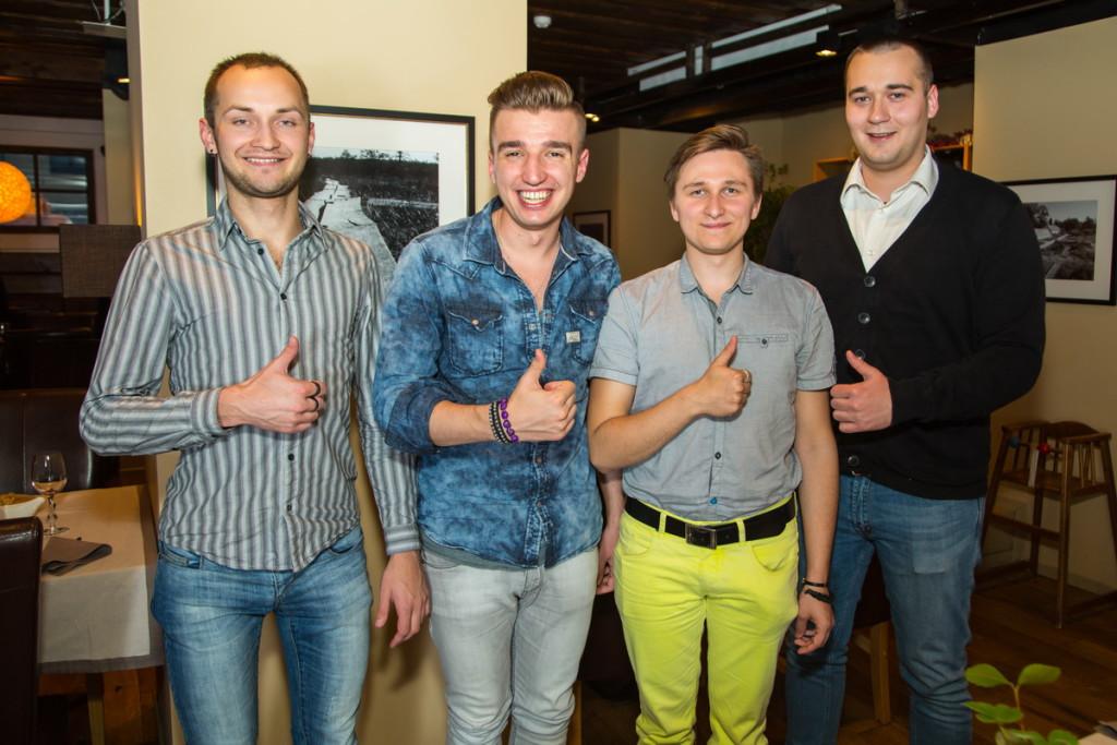 STAARIÕHTUSÖÖK! Superstaar Artjom Savitski nautis kaaslastega restoran Nipernaadi maitseelamusi