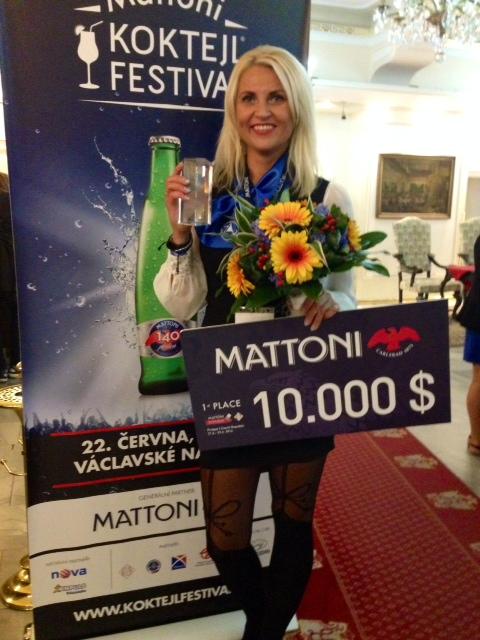 Maailma parim baaridaam on Krista Meri Eestist!
