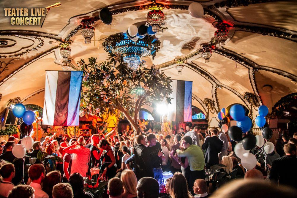 VAATA HIIGELGALERIID! Tanel Padar & The Sun rokkis Teatris