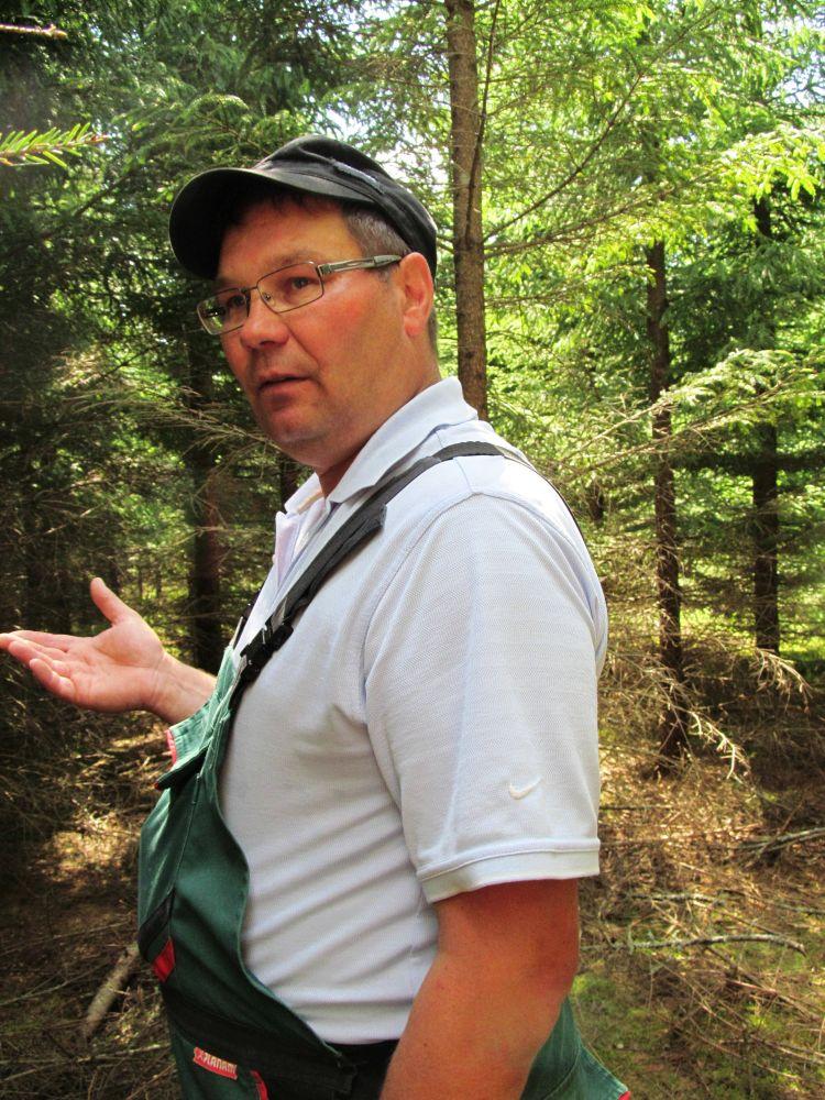 Parim metsamajandaja 2014 on Hallan Muusikus Lääne-Virumaalt