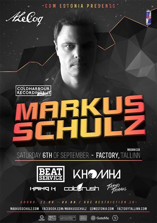 USA number 1 DJ Markus Schulz tuleb Eestisse!