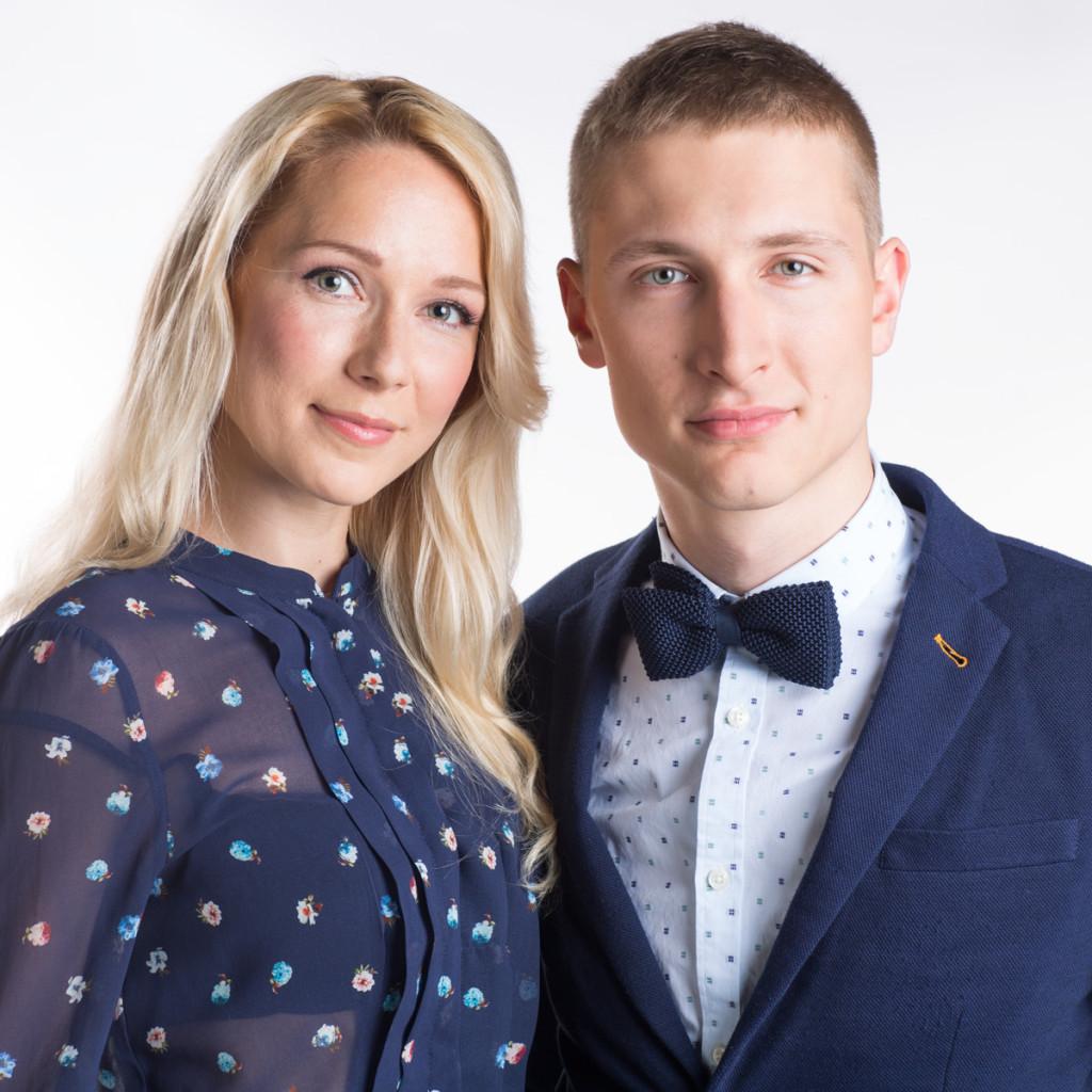 Lenna Kuurmaa ja Karl-Erik Taukar