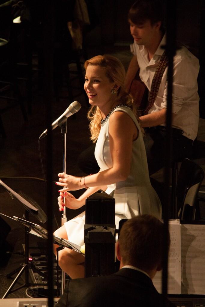 Luisa Värk täitis Massimo maagilise muusikaga
