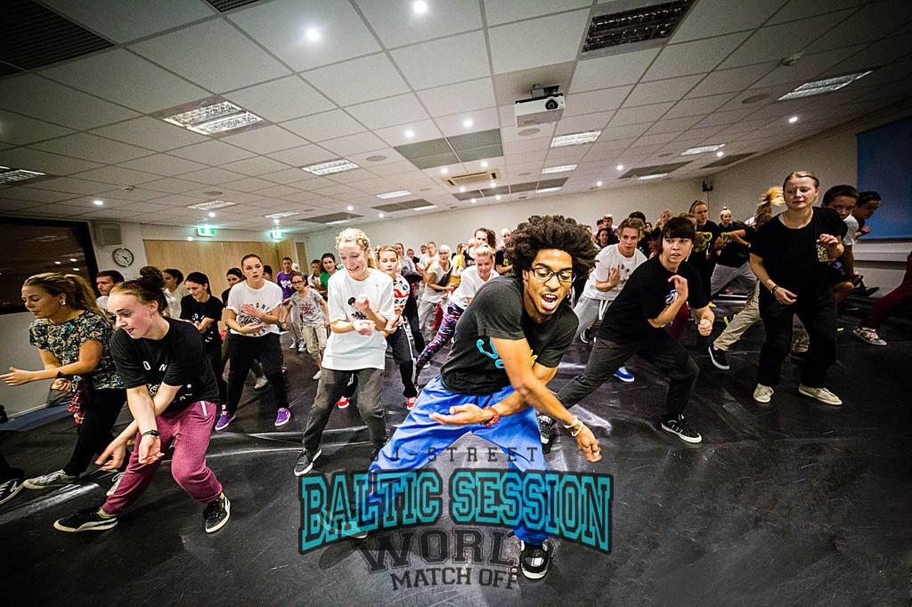 TÄNA VIIMANE VÕIMALUS! JJ-Street Baltic Session annab võimaluse õppida Michael Jacksoni koreograafilt