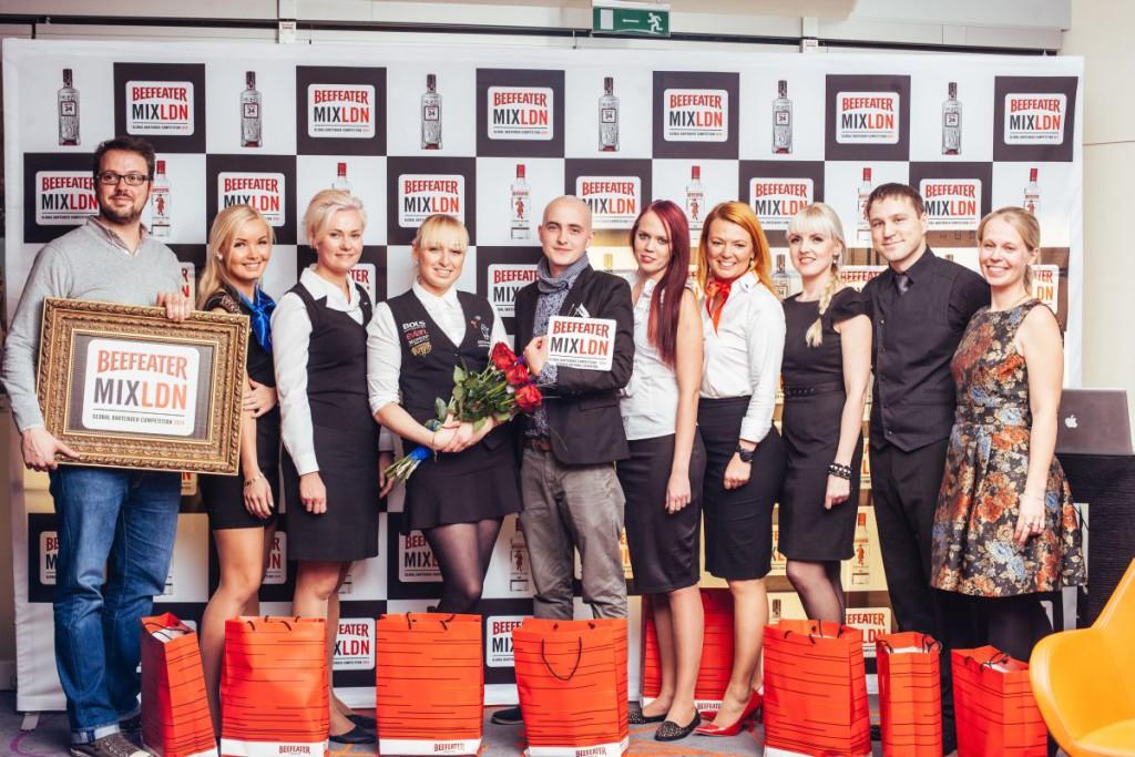 GALERII! Andrei Kazakov võitis rahvusvahelise Beefeater MIXLDN Eesti finaali
