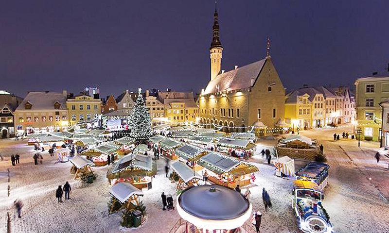HEA UUDIS! Traditsiooniline Tallinna Raekoja platsi Jõuluturg tuleb ka sel aastal!