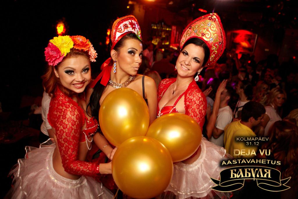 Lounge Deja Vu's toimub lõbusaim aastavahetuspidu Babuljaga