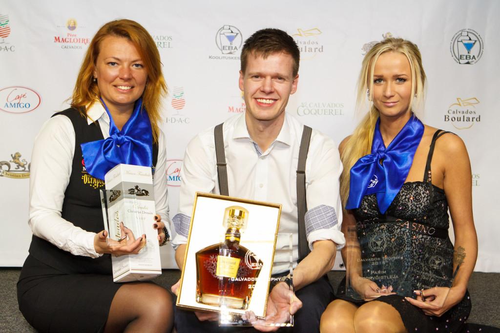 Raimo Huberg võidutses kokteilivõistlusel Calvados Trophy Eesti 2015
