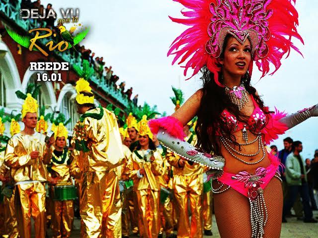 DEJA VU GOES TO RIO! Pidu lounge'is lööb talvise kuumarekordi