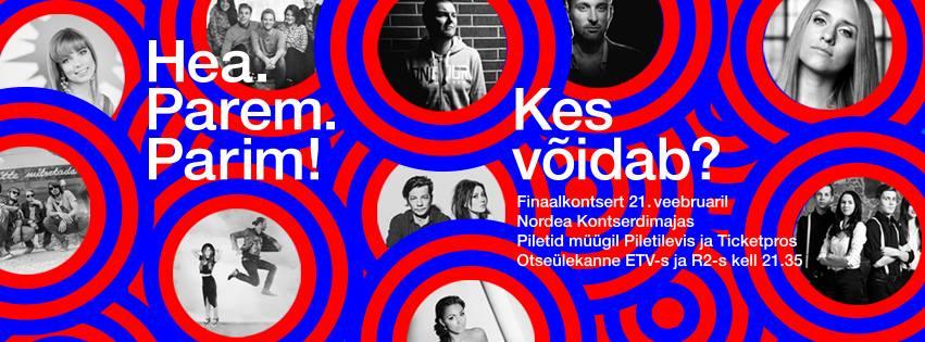 Laupäeval selgub Eesti Laul 2015 võitja!